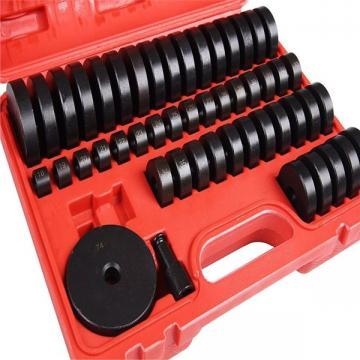 52Pc Custom Bushing Bearing Seal Driver Push Press Disc Tool Set 18-65mm US J6