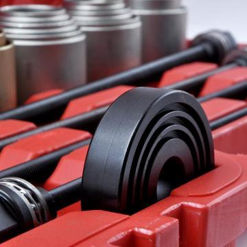 New Listing17PC Aluminum Small Wheel Bearing Race Seal Bush Driver Removal Manual Tool Case