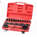 17PC Aluminum Small Wheel Bearing Race Seal Bush Driver Removal Manual Tool Case